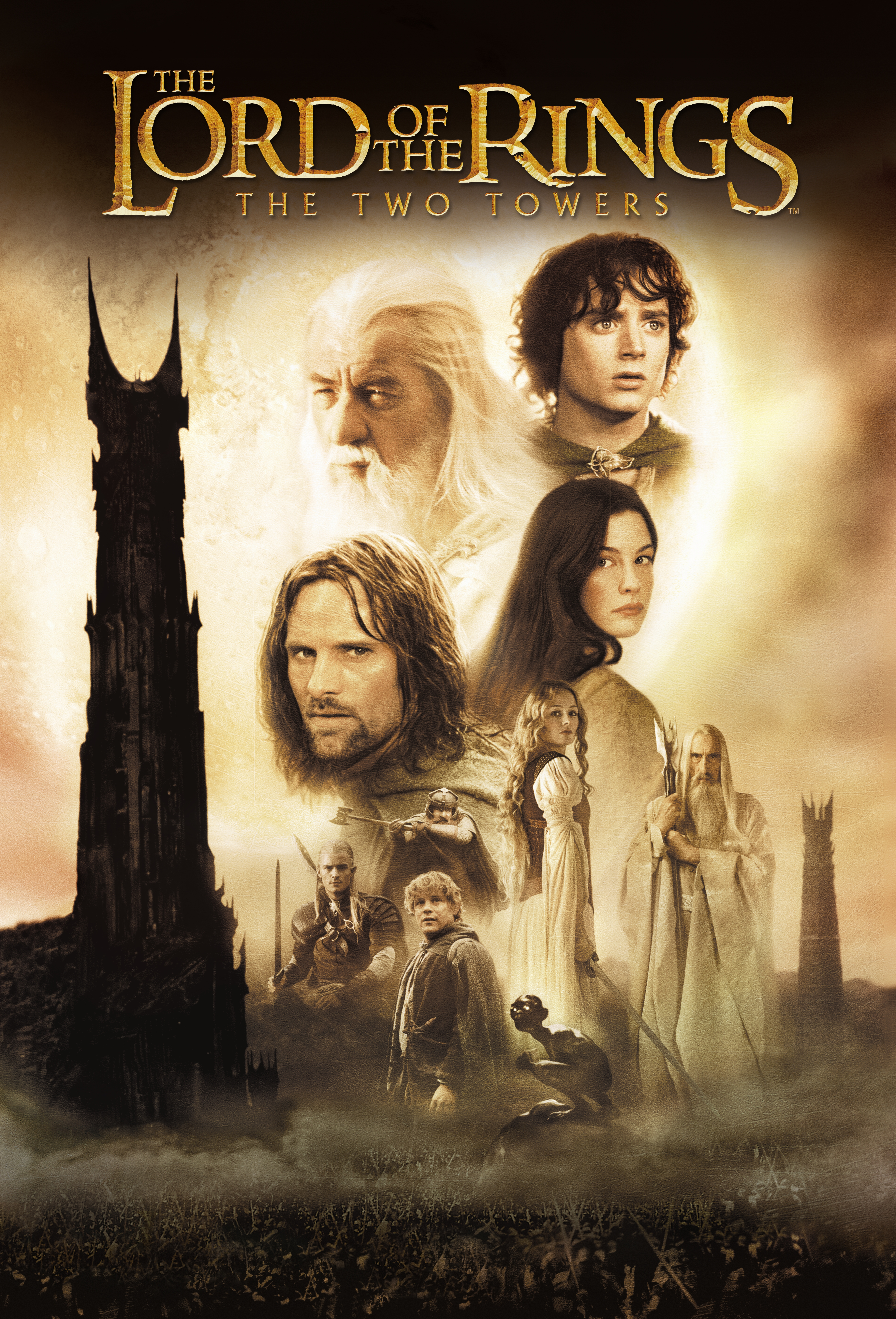The Lord Of The Rings The Two Towers 2002 Through The Silver Screen