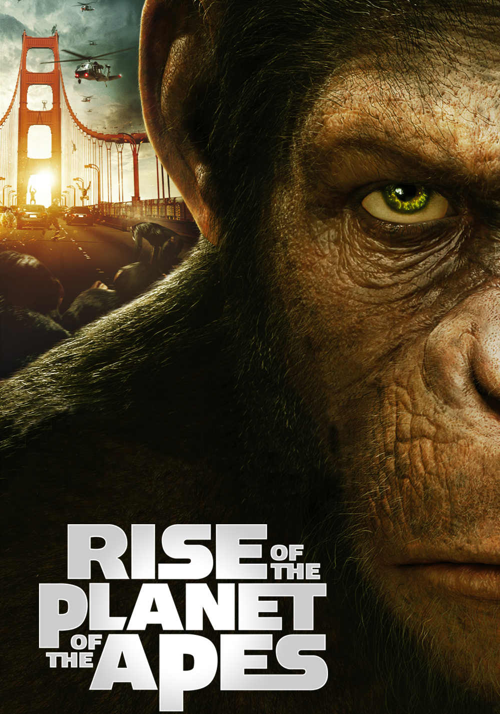 Rise Of The Planet Of The Apes 2011 Through The Silver Screen